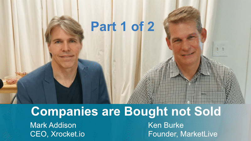 Part 1: Companies are bought …