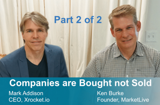 Part 2: Companies are bought …